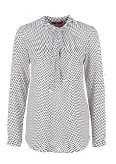 Viskose-Bluse mit Schleife kaufen | s.Oliver Shop