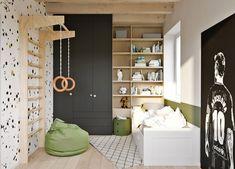 Chlapčenská izba, ktorá porastie spolu s jej obyvateľom | DOMA.SK Bratislava, Kids Room, Entryway, Studio, Furniture, Design, Home Decor, Ideas, Homemade Home Decor