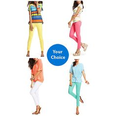 COLORED LEGGINGS $9.94 #walmart.com These are solo comfy i want every color!