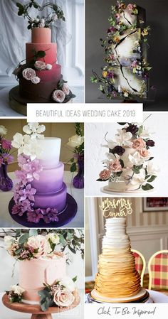 A wedding cake is a nice end to the wedding day. Beautiful, sweet and tasty, he pleases not only a couple, but Indian Wedding Cakes, Small Wedding Cakes, Black Wedding Cakes, Wedding Cake Rustic, Beautiful Wedding Cakes, Wedding Cake Designs, Wedding Bride, Wedding Ideas, Wedding Cake Centerpieces