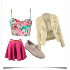 Oxford + jaqueta = lindo