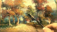 Oil Painting Landscape Yasser Fayad ياسر فياض