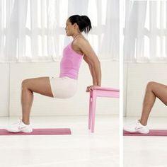 Allenare i tricipiti Perché serve: È l' esercizio ideale per tonificare i tricipiti, cioè i muscoli che sostengono l'interno del braccio, una zona che tende a cedere prima delle altre