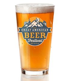 Great American Beer Festival Glass