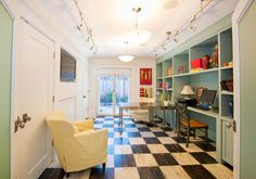 House of Turquoise: PassivWorks | hallway home office