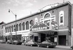 Chicago - Biograph Theater  every year on boxing day, my best friend and i would walk to the Biograph and relive our christmases...  growing up, we knew it was a famous place, but we didn't care: it was just a cool place to go :)