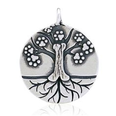 The Tree of Life pendant illustrates the story of our lives with our well-loved canine companions. The Tree of Life concept has been used in many mythologies, philosophies and theologies to show how we are interconnected and to demonstrate descendents of family relationships!Of course Dazzling Paws Jewelry would offer a wonderful doggie-centric view on this concept for people who love dogs!