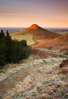 First light on Roseberry Topping, North Yorkshire Moors