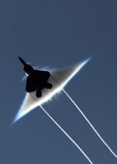 Breaking the sound barrier.