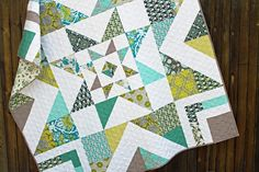 Triple Barnstar quilt, by Amy Gibson of Stitchery Dickery Dock #HST #textile #fabric