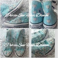 Zapatos de Converse personalizados temáticos Disney congelado