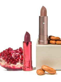 PURE is the most healthy and most nourishing food for your skin made from pure, organic nutrients. Natural Lipstick, Natural Makeup, Organic Nutrients, Glossier Lipstick, Makeup Cosmetics, Beauty Makeup, The 100, Fragrance, Product Launch