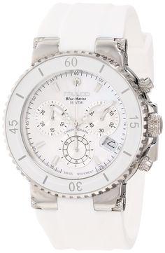 """Amazon.com: Mulco Women's MW3-70604-011 """"Bluemarine"""" Stainless Steel Watch: Mulco: Watches"""