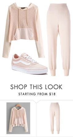 """Loungewear"" by emmas388 ❤ liked on Polyvore featuring STELLA McCARTNEY and Vans"