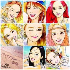 Girls' Generation♡ ㅤㅤㅤㅤㅤㅤㅤㅤㅤㅤㅤㅤㅤ Please do not use!!!Reprint is prohibited!!! ㅤㅤㅤㅤㅤㅤㅤㅤㅤㅤㅤㅤㅤ #girlsgeneration#gg#snsd#party#taeyeon#sunny#tiffany#hyoyeon#yuri#sooyoung#yoona#seohyun#fanart