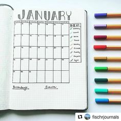 #Repost @fischrjournals with @repostapp ・・・ January's overview #BeforeThePen 💜✍🏼 I've been so busy with curating posts about #CultivatingCare I didn't realize I never posted this overview - forgive me! #FischrJournals #ShowMeYourPlanner #Overview