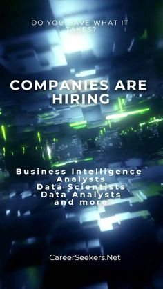 Learn why so many companies want business intelligence professionals. Here are some tips to help you qualify for a grant to unemployed workers to pay for your training, certification, and placement in this exciting field. Business Intelligence Analyst, Business Analyst, Career Help, Career Advice, Best Careers, What It Takes, Business Management, Training, Tips