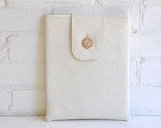 Ipad Case Ipad Cover Ipad Sleeve Ivory Water by LittlePigeonCrafts, $30.00