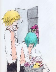 #tag:anime, fanart , khr#  Fran-chan est jaloux ,trop choupi