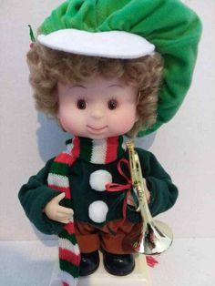 Santas Best Undercover Kids Vintage Animated Doll AJ With Box SantasBest 99 Cents