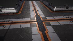 ArtStation - Modular Sci-fi floor game ready, Vladislav Shintukov