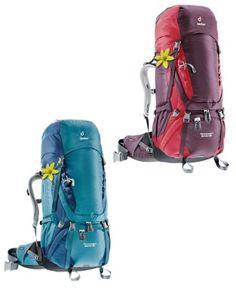 Aircontact 60+10 SL Deuter : Sacs à dos trekking : Snowleader