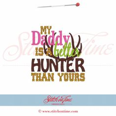 Daddy is a Better Hunter