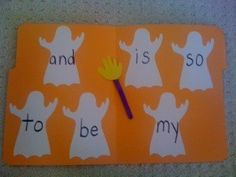 """""""Ghostbusters"""" skill activity :Dr. Jean & Friends Blog: BOOTIFUL AND SPOOKTACULAR!"""