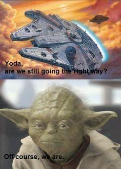 Freaking Yoda.