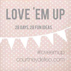 Love 'Em Up No Guilt Pledge - Courtney DeFeo