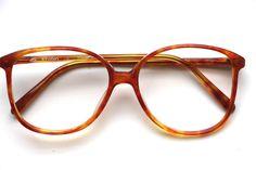 """Brille """"Studio Italy"""" Brille Vintage Kunststoffgestell Braun Havana Cortina von ClassicalSense auf Etsy"""