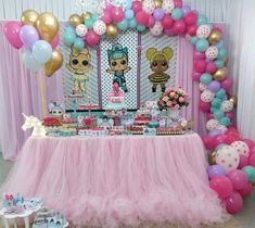 Get together balloons, dolls, product, poster, cake and more for your kids LOL Surprise themed party