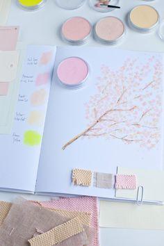 color palettes, pan pastels, spring colors, art, mint, paint, pastel colors, soft pastels, easter ideas