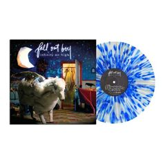 Fall-Out-Boy-Infinity-On-High-Vinyl-2xLP-Sealed-New-Clear-Blue-White-Splatter