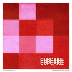 オールポスターズの パスカル・ノーマンド「Cupcake」高画質プリント