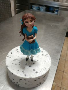 Isabel from Elena of Avalor cake topper