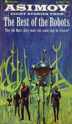 Pyramid Books - The Best of the Robots - Isaac Asimov