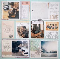 I like the big letters and the tab on the Journal card :) add more tabs!