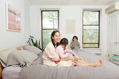 Check out these photos and interview with Lisa Fine of Quiet Town in her Brooklyn family abode.