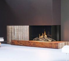 More than 175 years of craftsmanship, a tasteful style and the most beautiful fire effect. That is what Faber has on offer. Choose a fire for your home. Log Burner, Gas And Electric, Gas Fires, Logs, Display, Modern, Design, Home Decor, Matrix 3