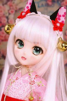 Anime, Doll, Kawaii, Smart Doll, Dollfie Pretty Dolls, Beautiful Dolls, Ooak Dolls, Blythe Dolls, Anime Chibi, Kawaii Anime, Lolita Gothic, Doll Japan, Kawaii Doll