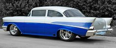 57 Chevy Supreme. All the cool guys in high school had a 55, 56 or 57 chevy.