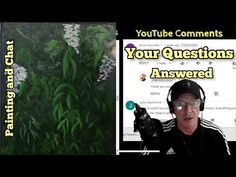 Acrylic painting Fun Chat questions answerd