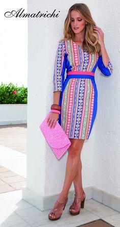 Vestido/dress ZOE Algodon Lycra/cotton lycra