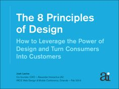 The 8 Principles of Design – How to Leverage the Power of Design an...