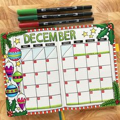 My Bullet Journal Christmas December bullet journal monthly spread by Kate Hadfield – artsy bujo layouts and ideas!Christmas December bullet journal monthly spread by Kate Hadfield – artsy bujo layouts and ideas! Bullet Journal Monthly Log, Bullet Journal Christmas, December Bullet Journal, Bullet Journal 2020, Bullet Journal Notebook, Bullet Journal Ideas Pages, Bullet Journal Spread, Bullet Journal Inspiration, Bullet Journal Months