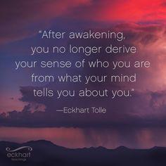 This week's present moment reminder. Spiritual Enlightenment, Spiritual Awakening, Spiritual Quotes, Wisdom Quotes, Life Quotes, Spiritual Thoughts, Eckhart Tolle, Kahlil Gibran, Frases Zen