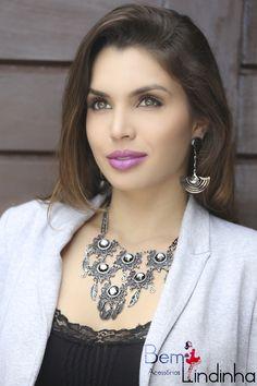 Bem Lindinha #acessories #colar #acessórios #brincos #moda #bemlindinha #trend