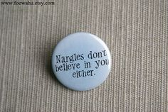 Nargles don't believe in you either  Harry Potter  by foowahu, $1.70