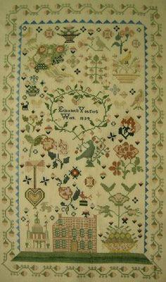 Elizabeth Yaegers-1834 :: Sampler Browse :: The Essamplaire
